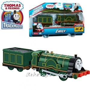 Fisher Price Влакче ЕМИЛИ Thomas & Friends Motorized EMILY Engine от серията TrackMaster™ CDB69