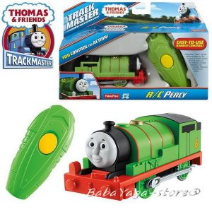 Fisher Price Влакче ПЪРСИ с достанционно Thomas & Frieds Motorized PERCY Engine remote control от серията TrackMaster™ CJX83