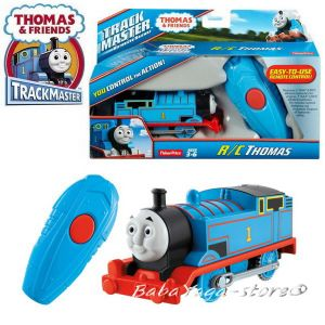 Fisher Price Влакче ТОМАС с дистанционно, Thomas & Frieds Motorized THOMAS Engine remote control от серията TrackMaster, CJX82