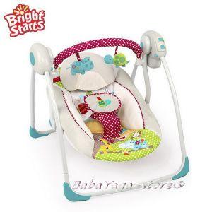 Bright Starts Люлка музикална от серията Comfort & Harmony в нюанс Polka Dot Parade™ - 60377