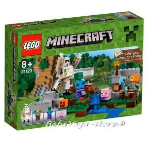 2016 LEGO Конструктор Minecraft Железният Великан - The Iron Golem - 21123