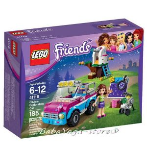 2016 LEGO Friends Olivia's Exploration Car - 41116
