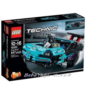 ЛЕГО ТЕХНИК Офроуд състезател LEGO Technic Drag Racer, 42050