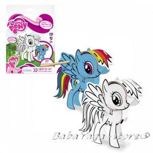 3D Креативен комплект за сглобяване и оцветяване My Little Pony Creative set - colour pencils 321788