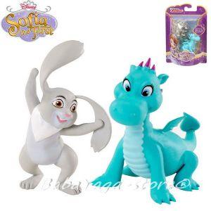 Disney Sofia the First Princess Заека Кловър и дракона Крек - CHJ46