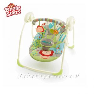 Bright Starts Люлка за бебе Portable Swing™ Up Up & Away™ - 60125