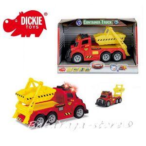 Dickie Камион с контейнер Екшън Сирийс, 15см - 3413581