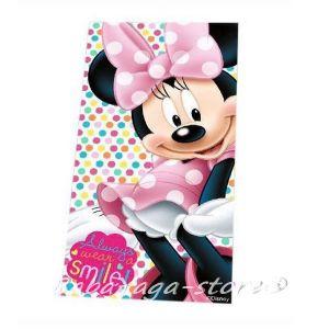 Детска Хавлия (70x140cm) Мини Маус, Minnie Mouse SMILE bath towel