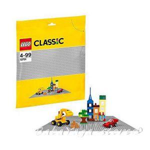 LEGO Конструктор Classic Сива основна плоча Grey Baseplate - 10701