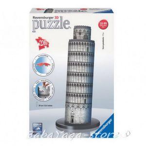 Ravensburger 3D ПЪЗЕЛ Световни забележителности: Наклонен кула в Пиза, Schiefer Turm Pisa, 12557