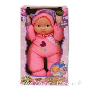 БЕБЕ-кукла 30см светещо от серията Dream collection Light up baby doll - 29324