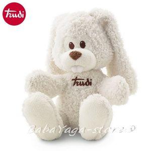 Trudi Cremino Плюшена играчка за бебе ЗАЕК (24cm) бял - 23752