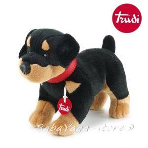 КУЧЕ Доберман Max the Rottweiler Плюшена играчка от серията Classic Dogs на Trudi - 22529