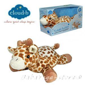 7473 Нощна прожекционна лампа ЖИРАФ 2в1 от CloudB, Twilight Buddies, Giraffe