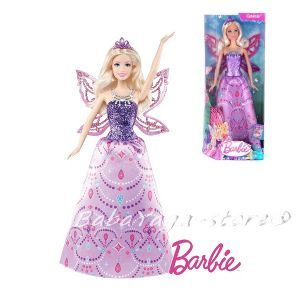 Barbie КУКЛА Mariposa and The Fairy Princess Catania от Mattel Y6404