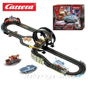 Carrera Go Disney Cars 2 Secret Mission Race Set ПИСТА Тайната мисия - 62239