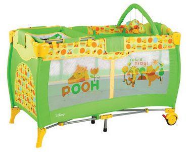 Playpen 2 Winnie the Pooh, Disney Kiddo, 4001