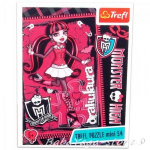 TREFL Puzzle mini Draculaura Monster High (54 pcs) - 19328