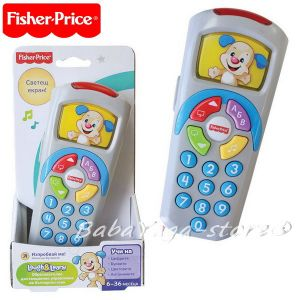 Fisher Price Образователно дистанционно на български език, Puppy's Remote - DLM12