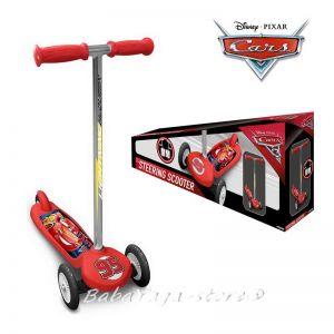 Детска Тротинетка - Скутер с 3 гуми Колите, Cars Scooter - C893045