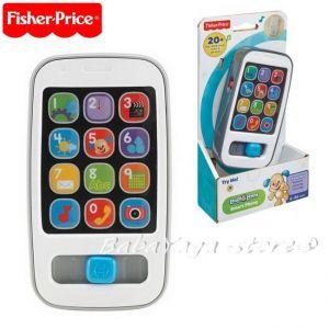 Fisher Price Образователен смартфон на български език, Laugh&Learn Smart Phone - CFN45