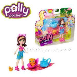 Polly Pocket Кукла Поли на ваканция, Color change, от Mattel, X9048