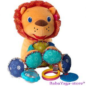 Bright Starts ЛЪВЧЕ Мека играчка с дрънкулки BUNCH-O-FUN - 8814