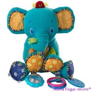 Bright Starts Мека играчка с дрънкулки BUNCH-O-FUN СЛОНЧЕ - 8814