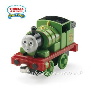 Влакче ПЪРСИ Thomas & Friends Percy от серията Take-n-Play, CBL76