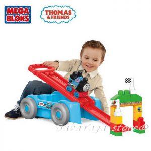 Mega Bloks Thomas & Friends Състезателна писта-вагон Томас, Racin' Railway Wagon, DXH57