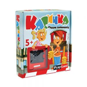 Play Land Занимателна игра за деца, Касичка, A-824