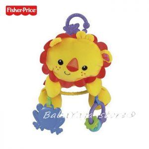 Fisher Price Плюшена играчка за количка ЛЪВЧЕ, Lion Stroller Plush, Y6579