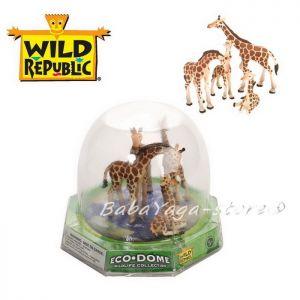 Giraffe Eco-Dome Family, Wild Republic, 89319