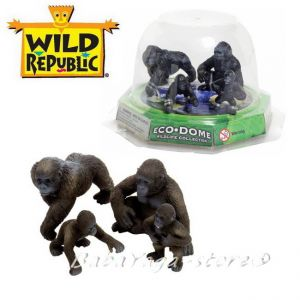 Gorilla Eco-Dome Familly, Wild Republic, 89318