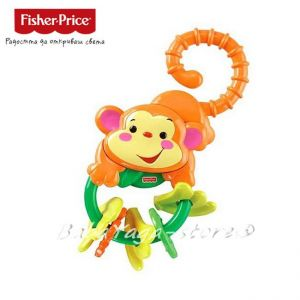 Fisher Price Rainforest Monkey Teether, L0513