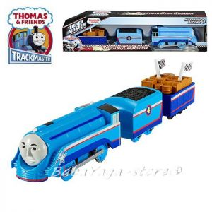 Fisher Price Влакчето ГОРДЪН, Thomas & Friends Motorized Shooting star GORDON Engine от серията TrackMaster, DFM8Ъ