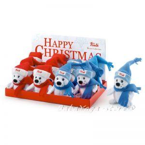 Trudi Stuffed Animal plush toy Seal, Xmass Sweet Collection, 29592