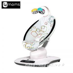 4moms Люлка - шезлонг за бебе MAMAROO multicolor, bluetooth