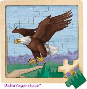 Wild Republic Jigsaw Puzzle Eagle (20pcs), 82829