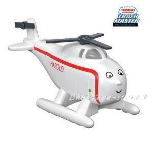 Fisher Price Хеликоптер ХАРОЛД Thomas & Friends Harold от серията Push Along, FXX04