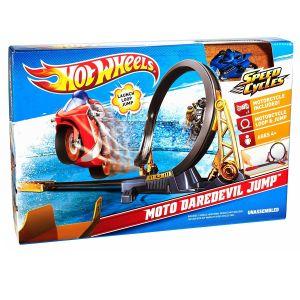 HOT WHEELS Speed Cycle Moto Daredevil Jump, V4351