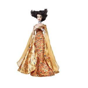 Barbie КУКЛА Музейна колекция ГУСТАВ КЛИМТ, Museum collection Gustav Klimt, T7912