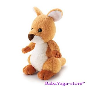 Trudi Stuffed Animal plush toy Cangaroo, Sweet Collection, 29422