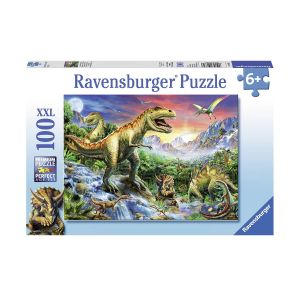 Ravensburger (100ч.) The time of the Dinosaurs Puzzle, 10665