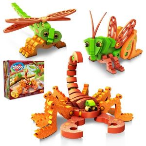 Bloco Puzzle EVA 3D Scorpions and Insects, 21002