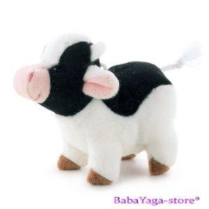 Trudi Stuffed Animal plush toy Cow, Sweet Collection, 29412
