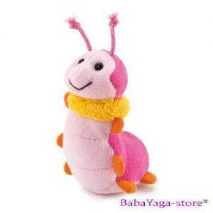 Trudi Stuffed Animal plush toy Caterpillar, Sweet Collection, 29439