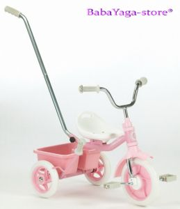 Tricycle ITALTRIKE Transporter Passenger, pink - 1040