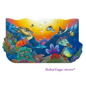 Wild Republic Big Coral Reef 50pc Floor Puzzle, 64847