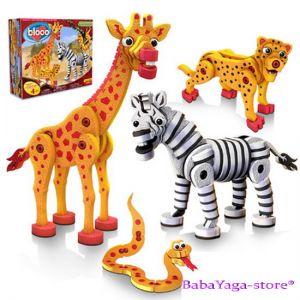 Bloco Toys Puzzle EVA 3D Savana, 25007